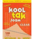 Kool Tak 144 pk 3D Adhesive Foam Pads-Clear