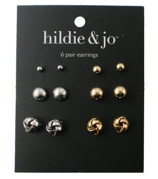 hildie & jo 6 Pack Stud Earrings