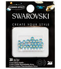 Swarovski Create Your Style 30 pk Hotfix Crystals-Peridot Shimmer