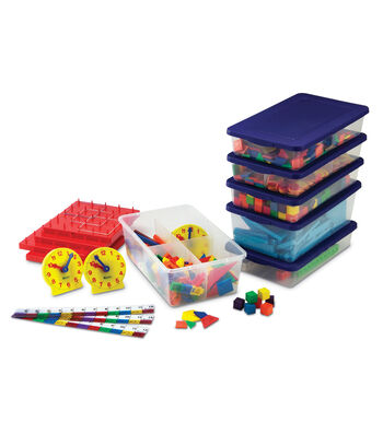 Grades 1–2 Manipulatives Kit-Photo-illustrated Lessons with Math