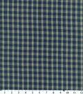 Homespuns Cotton Fabric 44\u0022-Navy Plaid