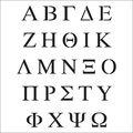 Crafter\u0027s Workshop Template Greek Letters 6\u0022 x 6\u0022