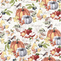 Harvest Cotton Fabric-Fall Harvest Icons