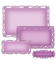 Spellbinders Nestabilities Decorative Elements Dies-Romantic Rectangles 2, , hi-res