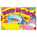 Trend Enterprises Inc. Happy Birthday! Recognition Awards, 30 Per Pack