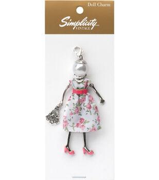 Simplicity Vintage Doll Charm-Nancy
