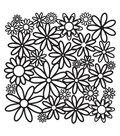 Crafter\u0027s Workshop 12\u0022x12\u0022 Template-Daisy Cluster