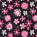 Babyville Pink Floral Pul Print Fabric