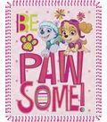 No Sew Fleece Throw 48\u0022-Paw Patrol Be Pawsome