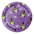 Maker\u0027s Halloween 8 pk 8.88\u0027\u0027 Dinner Plates-Witches