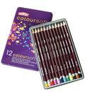 Derwent Coloursoft Pencil Tin 12/Pkg
