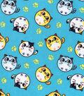 Snuggle Flannel Fabric 42\u0022-Bubble Kitties