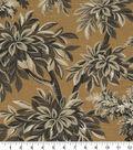 Robert Allen @ Home Upholstery Swatch 55\u0022-Sylvan Toile Amber