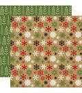 Celebrate Christmas Double-Sided Cardstock 12\u0022X12\u0022-Cold Outside