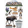 Paper House 3D Sticker Alaska