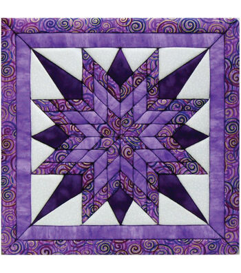 "Starburst Quilt Magic Kit-12""X12"""