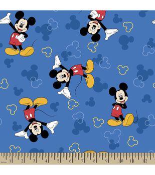 Disney Mickey Mouse Print Fabric