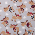 Blizzard Fleece Fabric-Sweater Moose