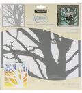 DecoArt Americana 12\u0027\u0027x12\u0027\u0027 Stencil-Branching Out