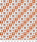 University of Texas Longhorns Cotton Fabric-Collegiate Check