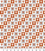 University of Texas Longhorns Cotton Fabric-Collegiate Check, , hi-res