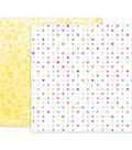 Pink Paislee Summer Lights Double-Sided Cardstock 12\u0022X12\u0022-#03