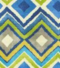Home Decor 8\u0022x8\u0022 Fabric Swatch-HGTV HOME Like A Diamond Azure