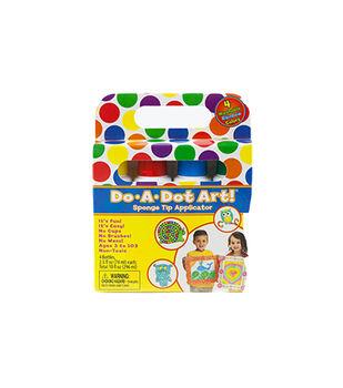 Do-A-Dot Art! 4 pk Washable Markers-Rainbow