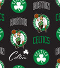 Boston Celtics Fleece Fabric 58\u0027\u0027-Tossed