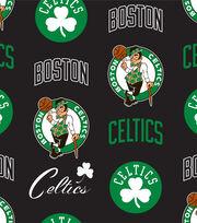 Boston Celtics Fleece Fabric -Tossed, , hi-res