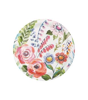 8ct Dessert Plate-Print Light Pink