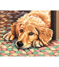 Reeves Paint By Number Kit 11\u0022X14-Dog Tired