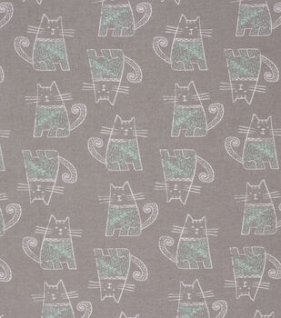 Super Snuggle Flannel Fabric-Sophisticated Cat