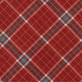 Snuggle Flannel Fabric -Red Riley Plaids