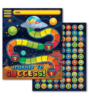 Eureka Mini Reward Charts and Stickers-Out Of This World