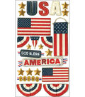 Jolee\u0027s Boutique Le Grande Dimensional Stickers-God Bless America