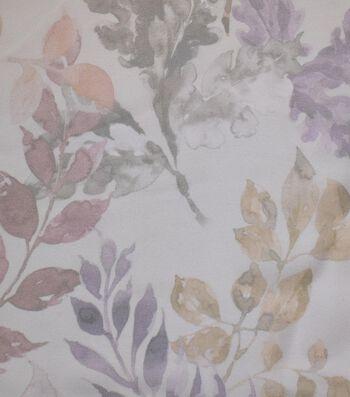 Gianna Printed Georgette Fabric 43''-Leaf Harbor Mist