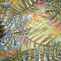Fast Fashion Yoryu Chiffon Fabric-Multi Cancun