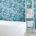 York Wallcoverings Wallpaper-Blue Palm