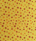 Keepsake Calico Cotton Fabric -Dots On Yellow