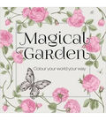 Adult Coloring Book-Magical Garden??
