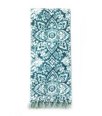 Hudson 43 Pure 16''x28'' French Terry Towel-Blue Print