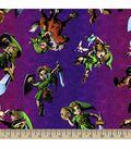 Nintendo The Legend of Zelda Print Fabric