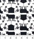 Snuggle Flannel Fabric -Bw Barnyard