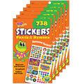 Praise & Reward Sticker Pad 738 Per Pad, 6 Pads