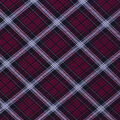 Christmas Cotton Fabric-Red Black Plaid