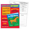 Parts of a Story Learning Chart 17\u0022x22\u0022 6pk