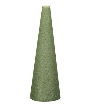 9X4In Foam Cone Green