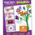 Shrinky Dinks 8\u0027\u0027x10\u0027\u0027 Opaque Sheet Creative Pack-Bright White
