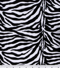 Suede Fabric -Zebra